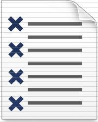 schedule as list