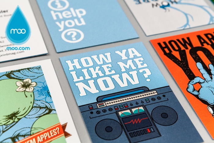 Get Free Business Cards from MOO