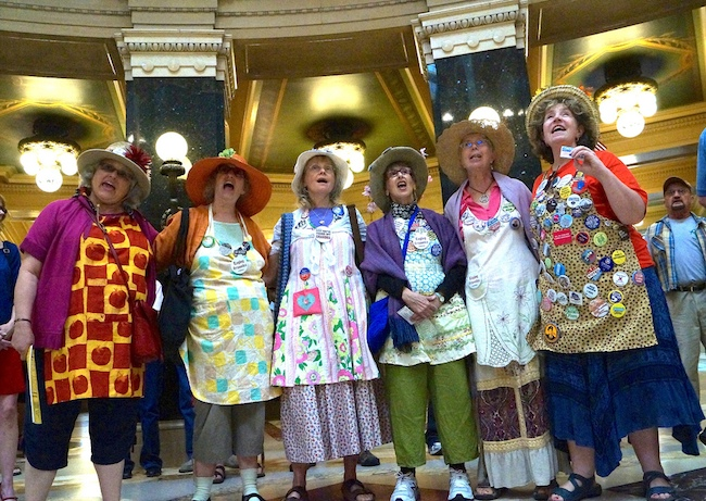 Raging Grannies Senior Sing-Along