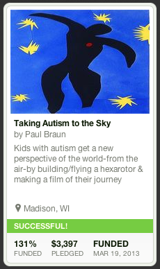 Taking Autism to the Sky